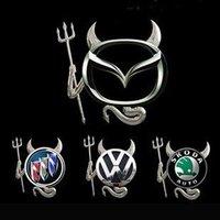Hot sale Funny Little Devil 3D car stickers/Auto sticker Small demon automobile label 20pcs/lot+China post Free shipping