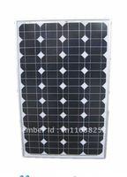 Factory Supply 60monocrystalline solar panel /solar module for 12v battery