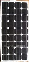 Factory Supply 80w monocrystalline solar panel /solar module for 24v battery