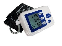 Free Shipping+ Digital Arm Blood Pressure Monitor With LCD Display