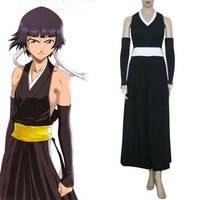 Bleach Soi Fong Fighting Cosplay Costume ,Free Shipping
