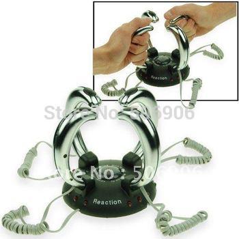 Free shipping 1PCS/Lots Lightning Reaction Revenge Electric Shock shocking Game Toy gift