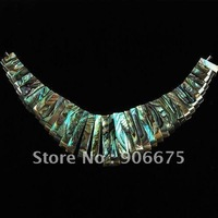 Mixed ORder! Mother of Pearl MOP Abalone Shell Gemstone Jewelry Necklaces Pendant Beads Set Loose beads Wholesale, Free Shipping