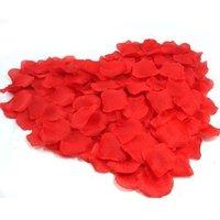 Hot sale 1152pcs/lot nice 8 colors heart silk rose petals wedding petals favors+Fulfillment shipping