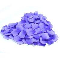 Hot sale 11520pcs/lot nice 8 colors heart silk rose petals wedding petals favors+DHL/EMS Free shipping