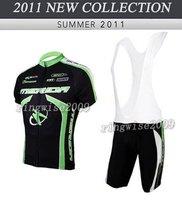 Free Shipping!! MEN'S 2011 NEW MERIDA TEAM CYCLING+BIB SHORTS BIKE SETS CLOTHES SIZE:S-4XL& Wholesale/Retail