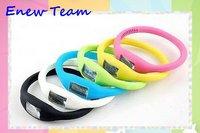 Free shipping by dhl Anion Sports Wrist Bracelet Silicon Unisex Watch/Bracelet Watch sports watch