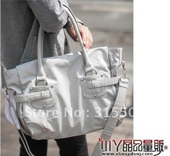 Mu new Korean female fish muyu2011 solid rivets fringed shoulder bag bag Messenger bag P10672-141