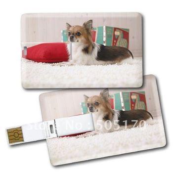 100% desgin Customer Credit card Flash disk usb 1GB 2GB 4GB 8GB 16GB 32GB 64GB excellent quanlity! (Free shipping by DHL/Fedex)