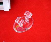 Good Bangle bracelet display rack transparent plastic jewelry holder jewelry holder jewelry holder Korean style 30pcs+gifts
