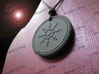 nano quantum energy scalar pendant with energy card &Resist radiation 50pcs/lot