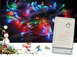 5 x 10M 100leds String Lights Christmas party Fairy Color HOT Sale For Xmas(China (Mainland))