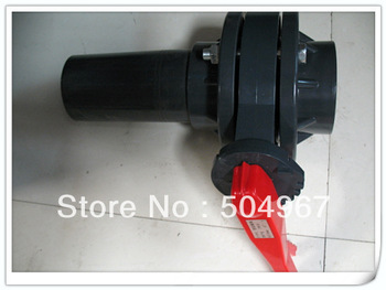 "hot sale retaile or wholesale 6"" pvc butterfly valve"
