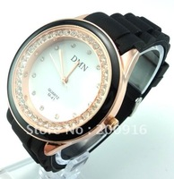 LE64 Hot sales promotion silicone wrist watch women fashion full swa crystal quartz watch