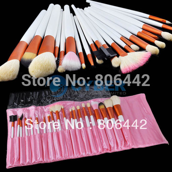 20Pcs Eyeshadow Cosmetic Makeup Brush set Kit + Case 968