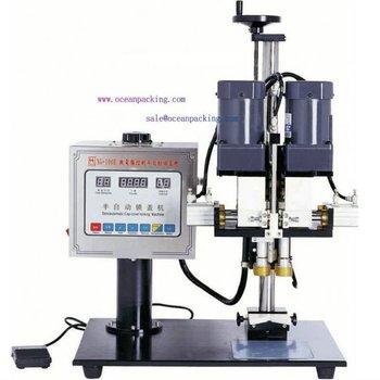 semi automatic screw capping equipment