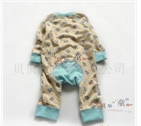 Free shipping 100% cotton floral infant Baby Romper,SZ 3-24M,2color,6pcs/lot,drop shipping
