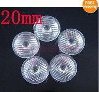 50x stripe Lens Reflector Collimator 20mm 1w 3w 5w LED