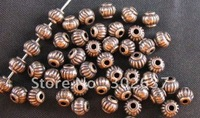 FREE SHIPPING 750pcs Antiqued copper Lantern spacer beads A471C