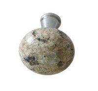sales!cabinet knob giallo veneziano granite handle stone knob 7b