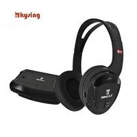 Good kysing quality Bingo B-610-W wireless headset support PC TV FM radio 30m Free Shipping