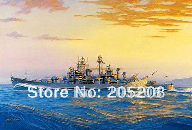 100% Handpainted High End Sea Canvas Oil Painting Handcraft Ship Wall Decoration Art Picture--ZC00073(Hong Kong)