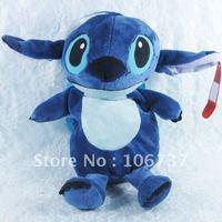 "Amusing Blue Stitch Backpack Children 16""new"