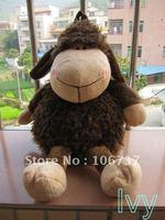 "Lovely NICI Dark Brown Sheep Backpack Children 16""new"