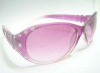 Free shipping 10pcs/lot Mix color Lady Women Fashion UV Protect Sun Sunglasses GL01