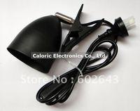 AU plug electroplate heat lamp shade, lampshade, reptile lamp shade, clamp shade (reptile, cold blooded animal)
