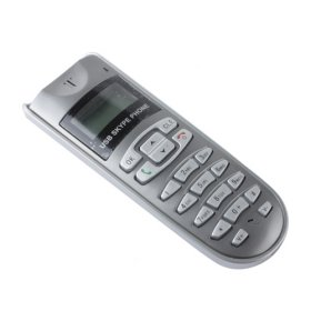 Wholesale - Free Shipping LCD USB Internet Phone Telephone Handset for Skype VOIP(China (Mainland))