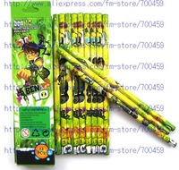 Hotsale 12 boxes / 144PCS BEN 10 pencils/Cartoon pencils/Lovely pencil/Gift/Free shipping