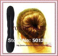 Sponge Bun Clip Maker Former Foam Twist Hair Salon Tool,Magic Dish hair stick,spong hair dish,free shipping