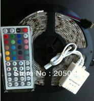 Промышленное освещение RSD 5M 5050 150 SMD RGB Led 30 /ip65 + 44 + AC/DC 12V 4A 5050 30LED+44KEY+12V 4A