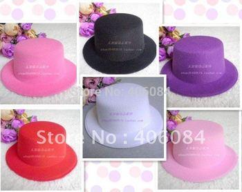 FREE SHIPPING NEW plain mini top hat DIY fascinator Wholesale Lot 60 PCS