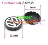 Wheel Center Caps FOR VW Emblem 53mm 55.5mm / wheel hub cover /car Badge,car emblem wheel cover for Bora Safe shipping