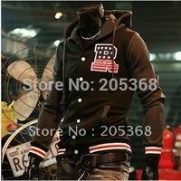 Мужская ветровка Hot Men's Jacket, Men's Baseball Fashion Jackets, Men's Basketball Uniform Jackets Color: Black, Red, Navy Size:M-XXXL