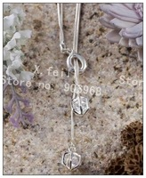 Free shipping Wholesale 925 silver cute necklace--Charm pendant jewelry-Promotions, special--Fashion Jewelry