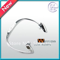 Free shipping sports headset hang design with high quality black/white
