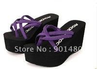 wholesale Womens New style Rocket Dog Crush WB Brown Flip Flops Shoes Sandals