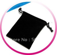 Fashion Jewelry Velvet Bag 100pcs Wholesale Free Shipping