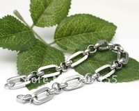 new stainless steel bacelet,classic cowboy chain,best choice