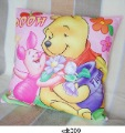 Wholesale - 20pcs/lot mix order cartoon purified cotton Pillow Case Cushion Cover  settee sofa