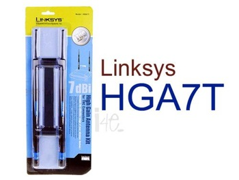 LINKSYS HGA7T 7dbi High Gain TNC Antenna Kit + Bracket