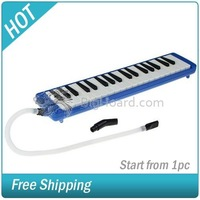 Blue 37 Key Melodica Mouth Organ Instrument #009000-180