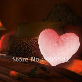 free shipping Heart shape moonlight cushion,soft pillow,sofa cushion