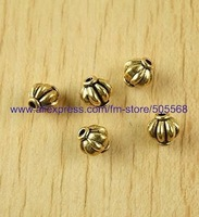 free shipping46 pcs/lot,wholesale beads,alloy beads,antique gold beads,spacer beads jewelry accessories for you