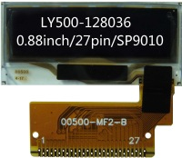 0.88 inch 96x32 OLED display