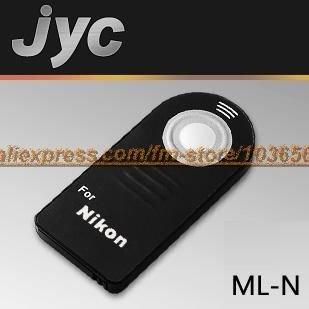 JYC IR remote control ML-N FOR Nikon D80, D70S, D70, D60, D50, D40, D40X, 8400, 8800, Pronea S,D3000,D5000,F75, F65, F55, N65