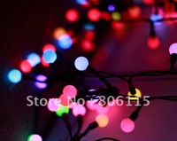 Christams/wedding 5meters 50 led Multi-Colour Garden Party Tree String Ball Light,waterproof&free shipping